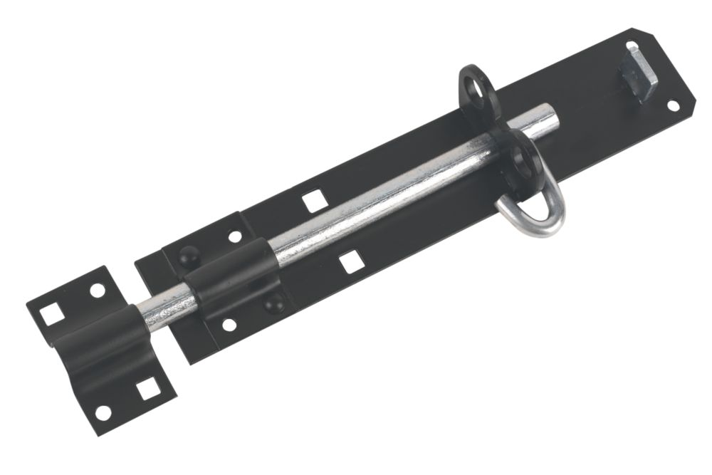 Brenton Gate Bolt Black 227.5mm
