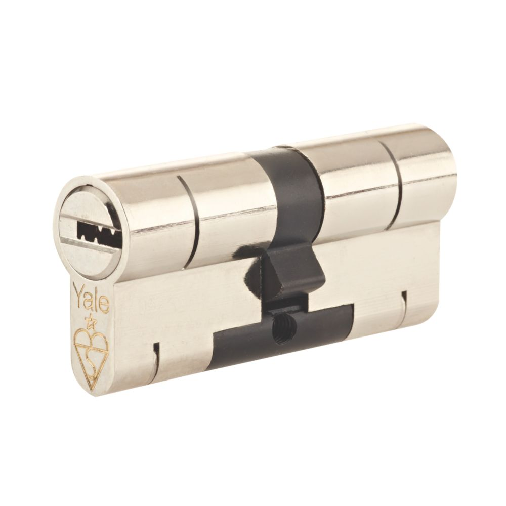 Yale  Superior 1-Star Euro Profile Cylinder 35-35 (70mm) Nickel