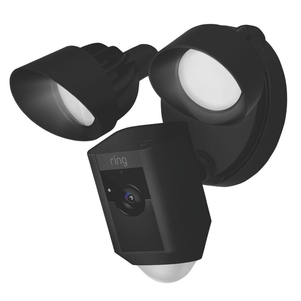 Ring Floodlight Camera PIR Black