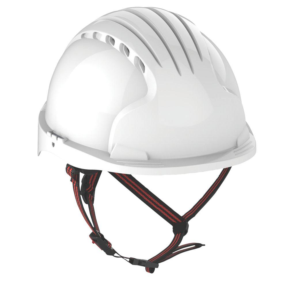 JSP EVO 5 Dualswitch Safety Helmet White