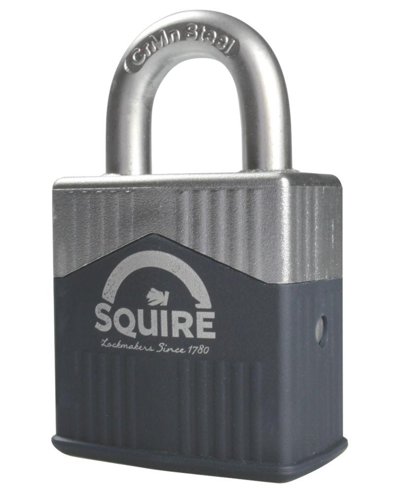 Squire Warrior 45 Hardened Steel  Weatherproof   Padlock 45mm