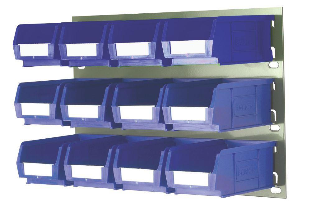 Wall Mountable Storage Kit 2 - 12 x TC2 Bins