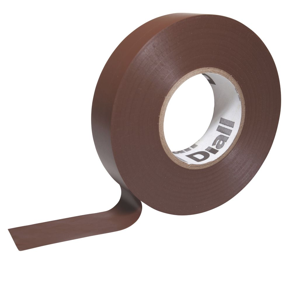 Diall 510 Insulating Tape Brown 33m x 19mm