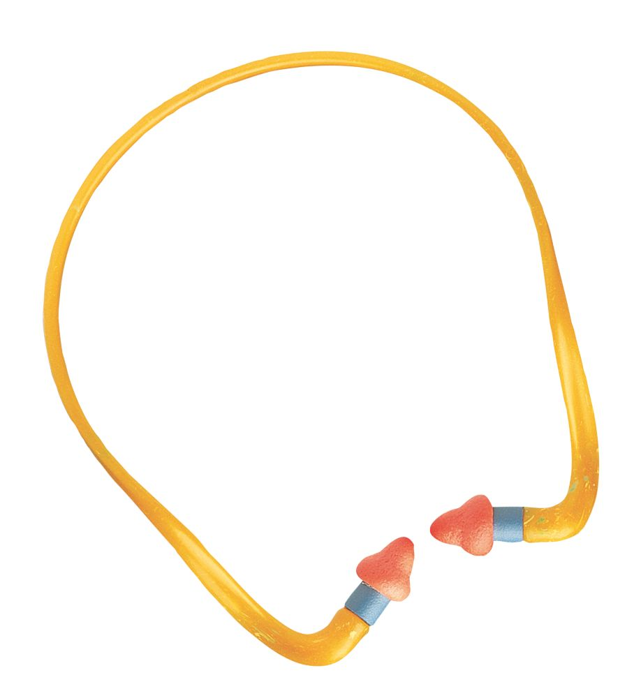 Howard Leight QB2HYG 24dB Semi-Aural Banded Ear Plugs