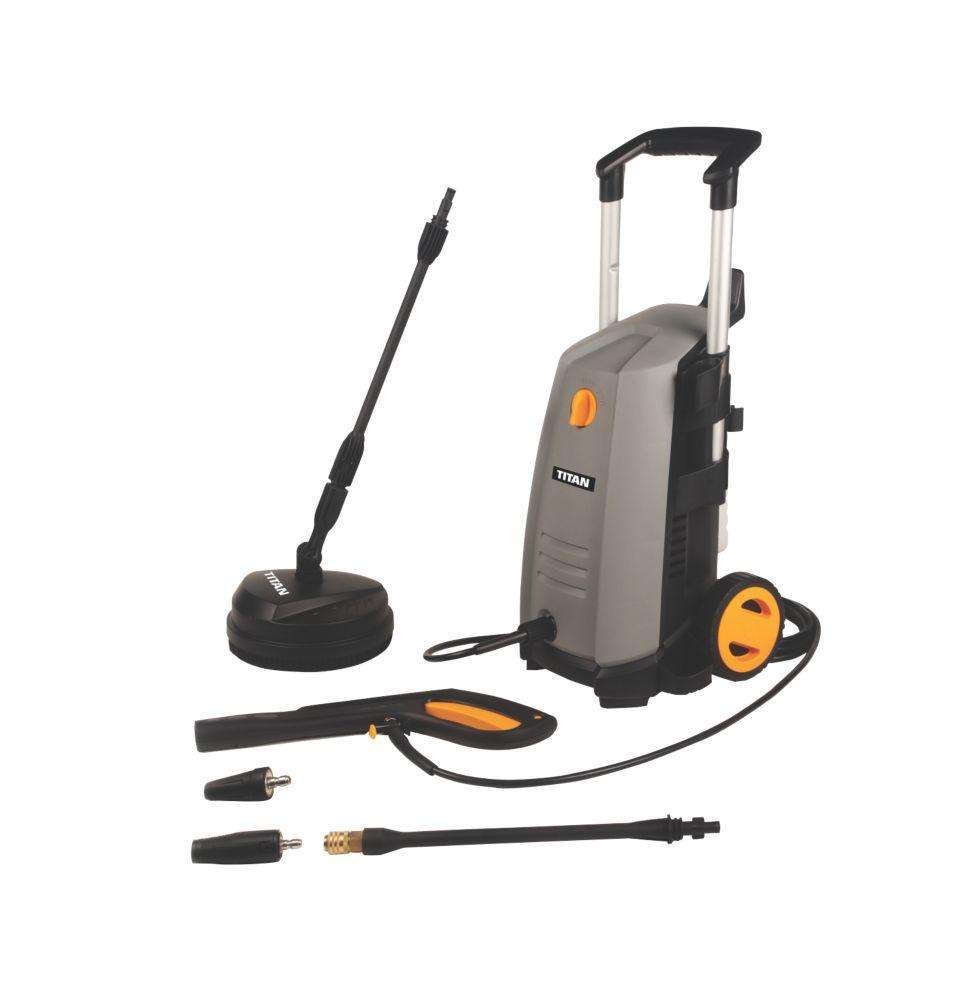 Titan TTB669PRW 130bar Electric Pressure Washer 1.8kW 240V