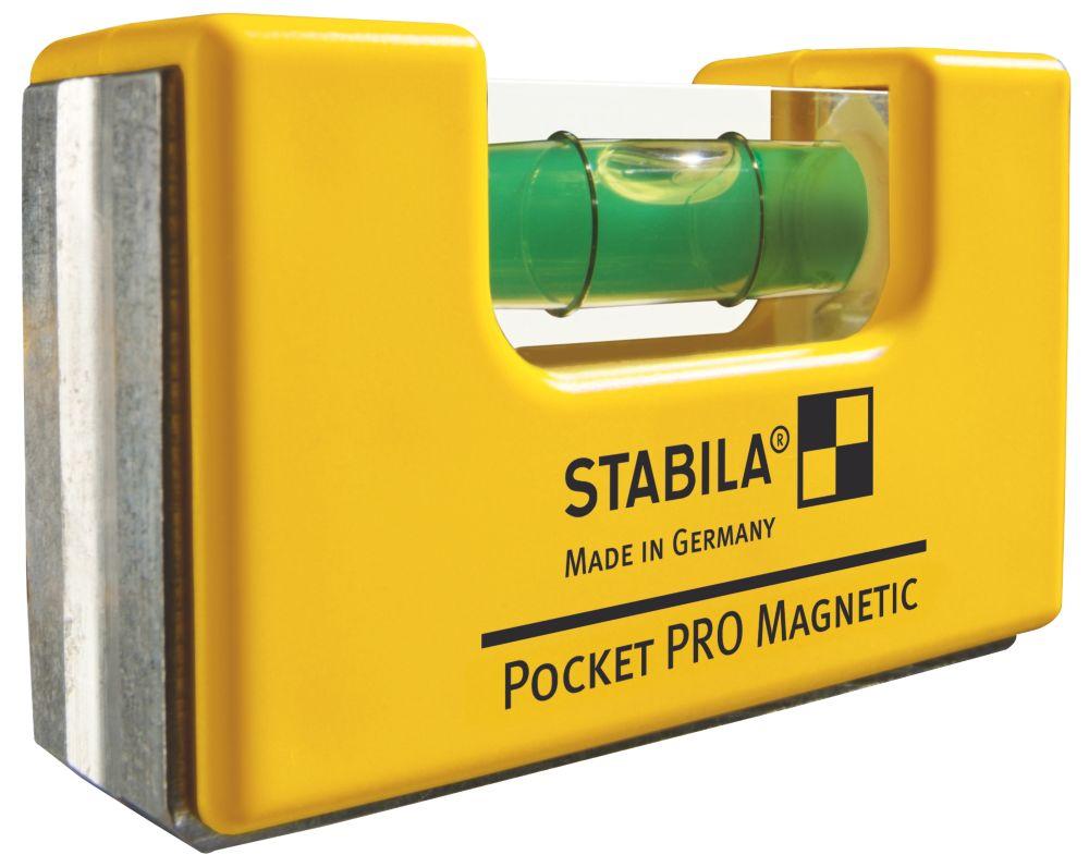 """Stabila  Pocket Spirit Level 2½"""" (65mm)"""