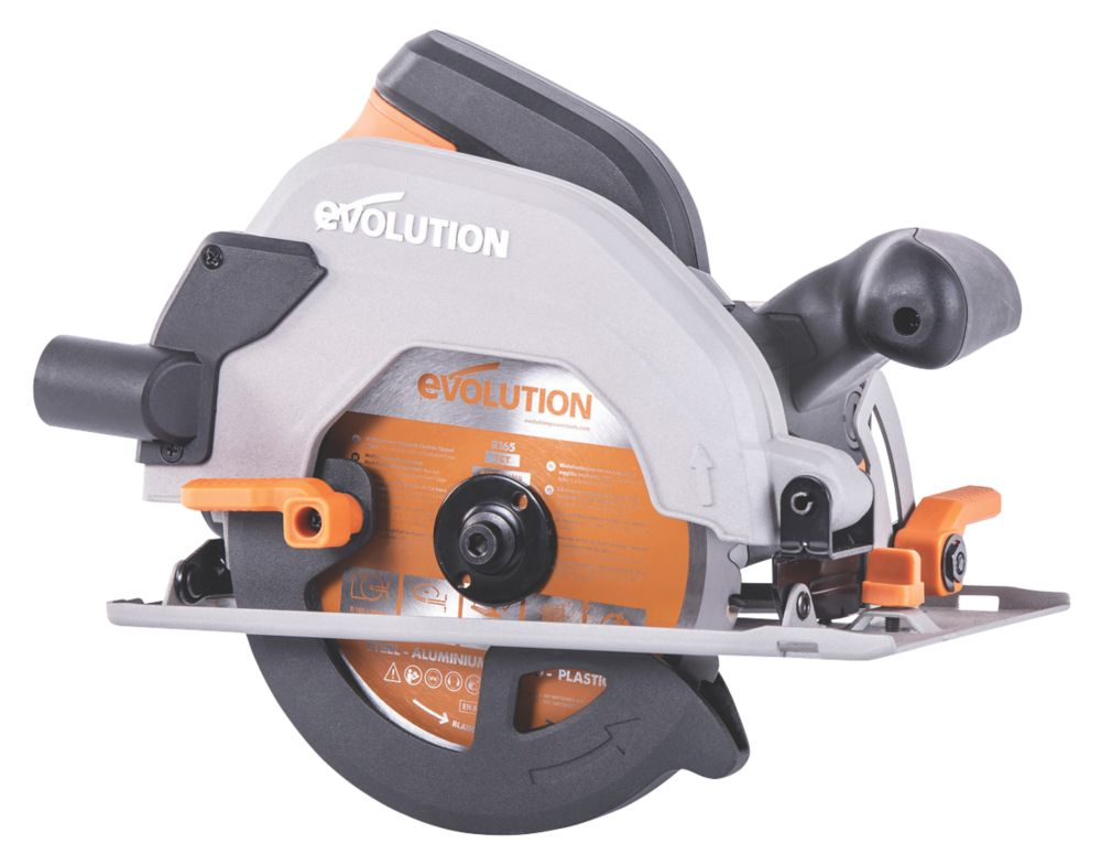 Evolution R165CCSL 1200W 165mm  Electric Circular Saw 110V