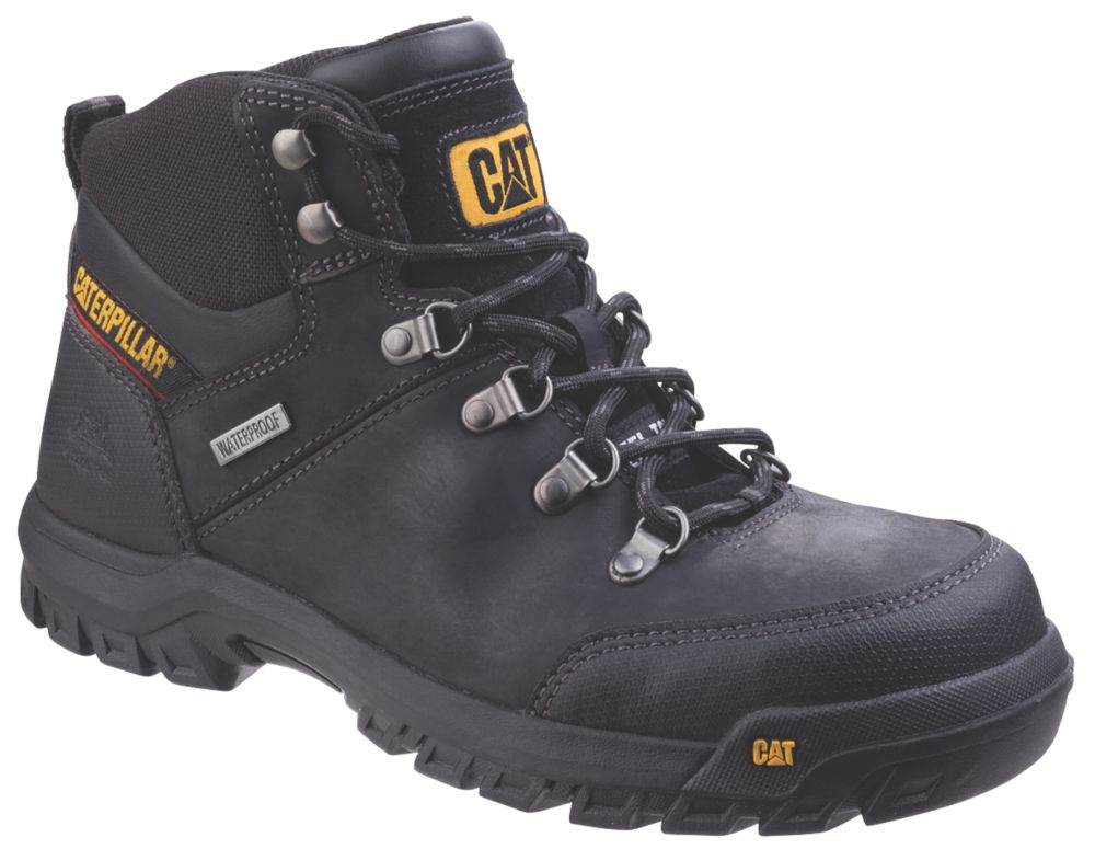 CAT Framework   Safety Boots Black Size 12