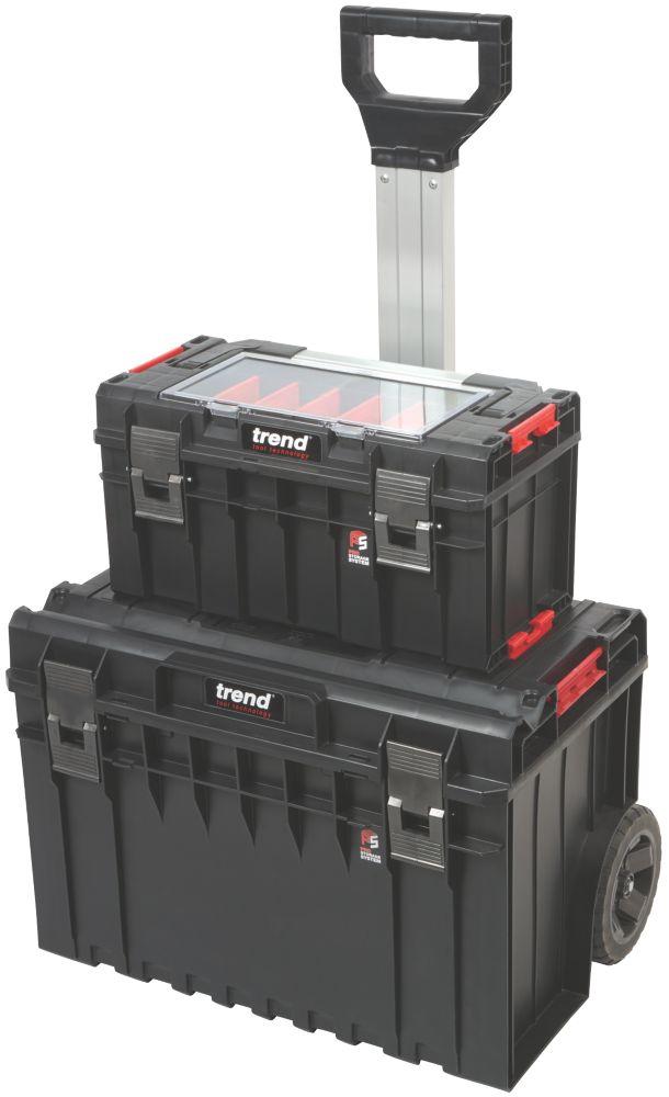 Trend  Modular Storage Pro Cart Set 2 Pcs