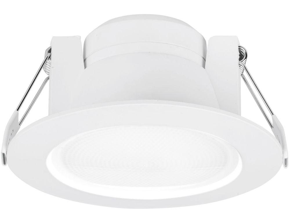 Aurora Uni-Fit Fixed Round LED Downlight  710lm 10W 220-240V