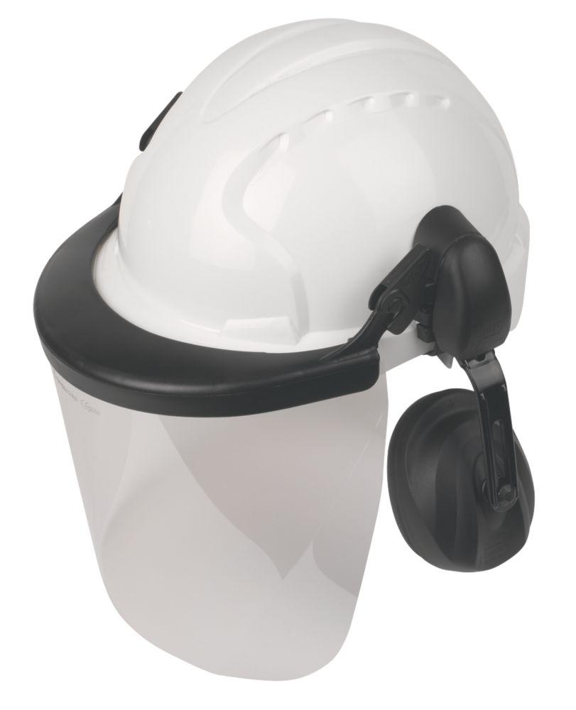 JSP EVO3 EVO3 Comfort Machinery Helmet with Ear Defenders & Visor