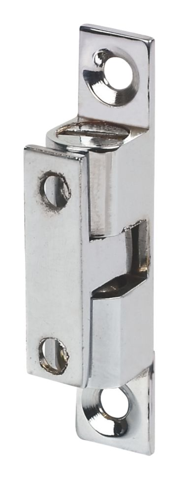 Double Ball Cabinet Catches Chrome-Plated 42 x 8mm 10 Pack
