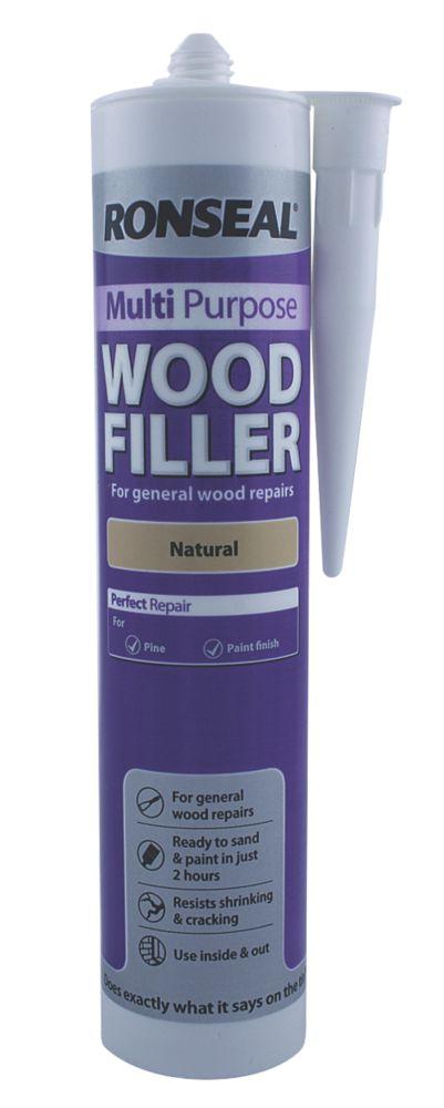 Ronseal Multipurpose Wood Filler Natural 310ml