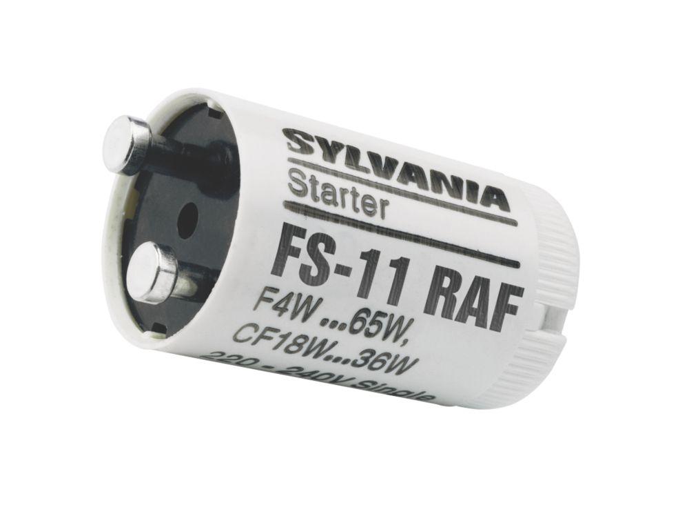 Sylvania 4-65W Fluorescent Starter 5 Pack