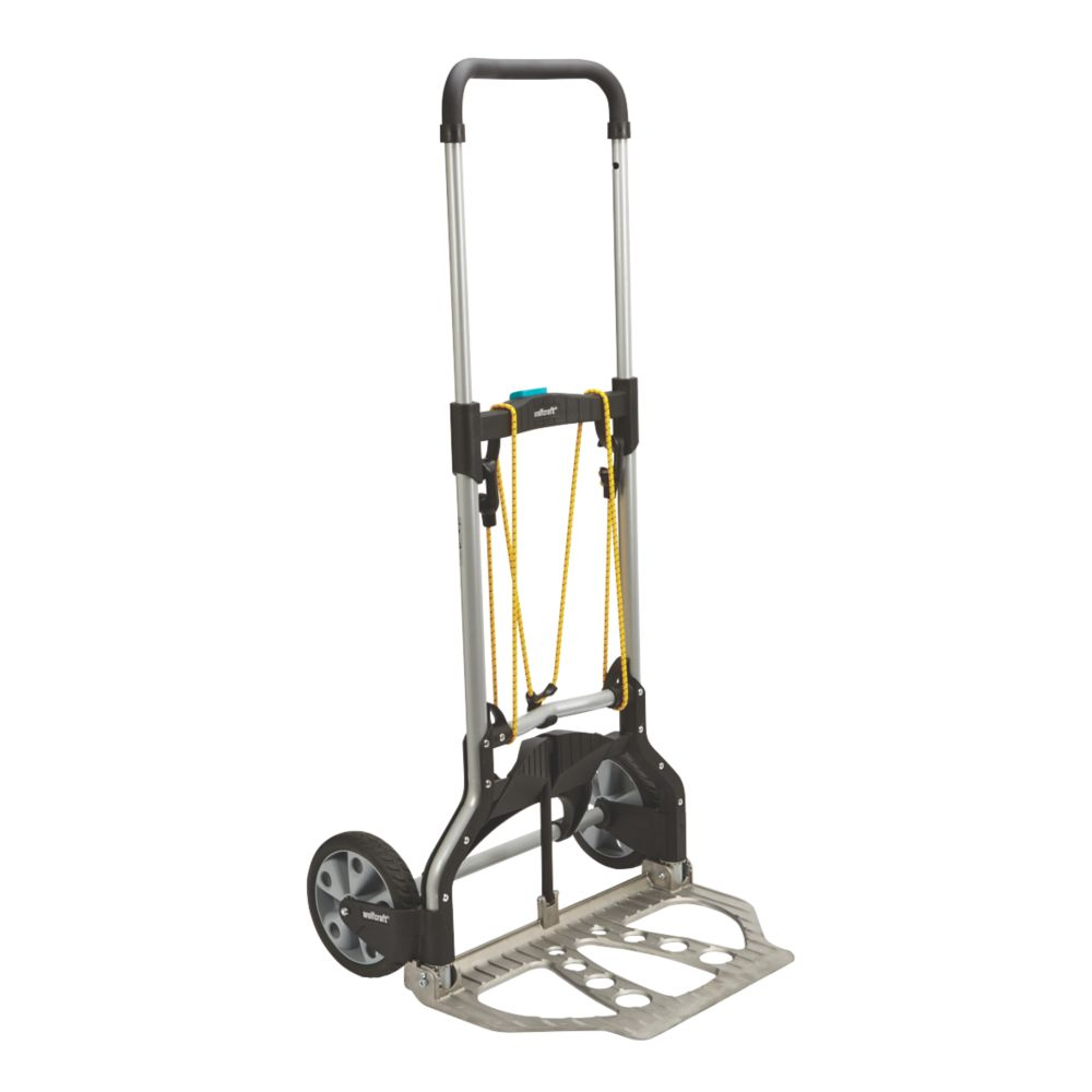 Wolfcraft Heavy Duty Aluminium Folding Trolley 100kg