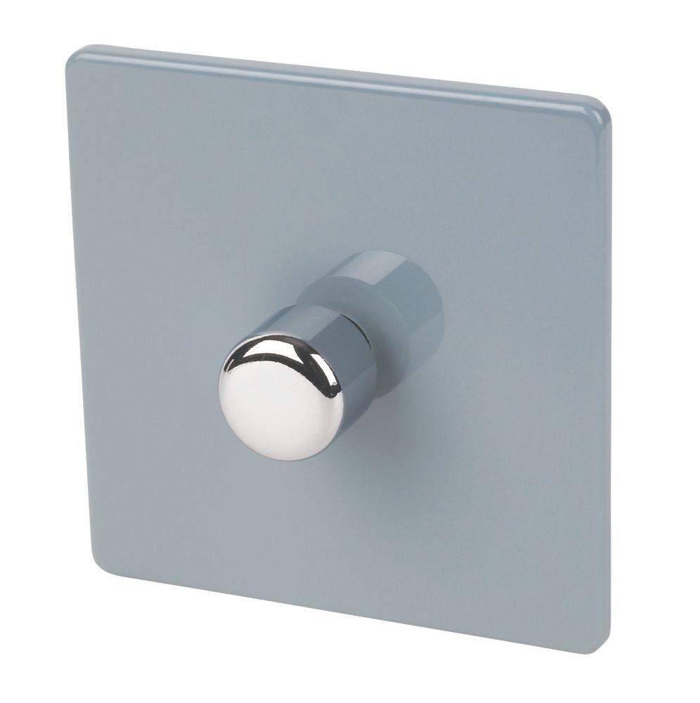 Varilight V-Dim 1-Gang 2-Way  Dimmer Switch  Sky Blue