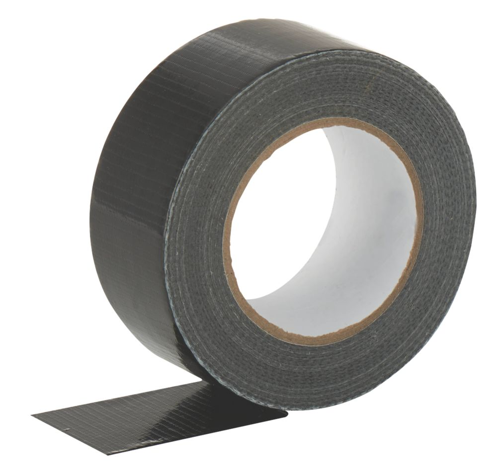 Cloth Tape 27 Mesh Black 50m x 50mm