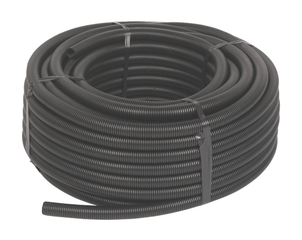 JG Speedfit 15BLK CON-50C   Conduit Pipe 15mm x 50m