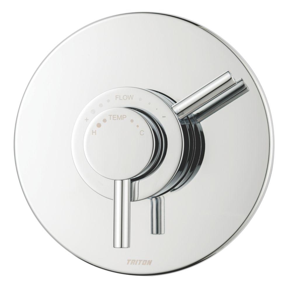 Triton Elina Concealed Mixer Shower Valve Fixed Chrome