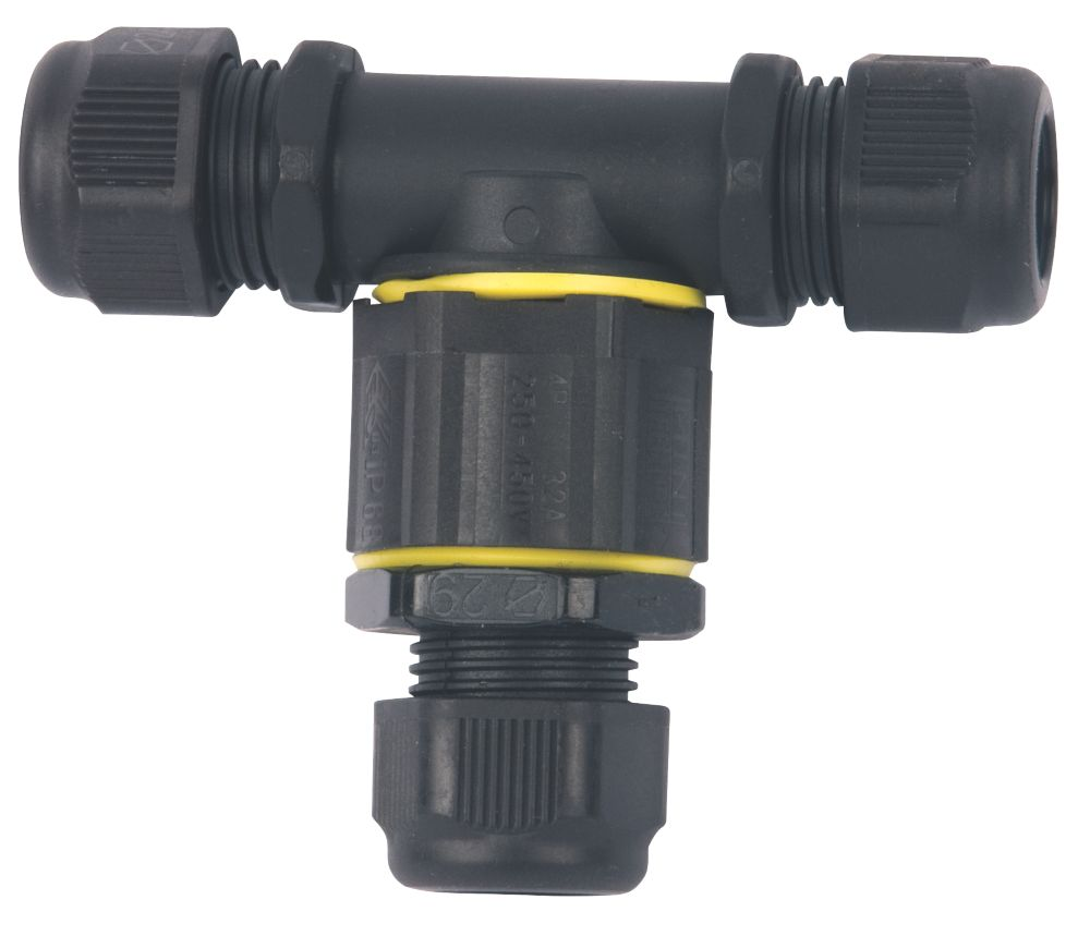 Hylec Teetube 3-Entry 3-Pole T-Splitter Cable Joint
