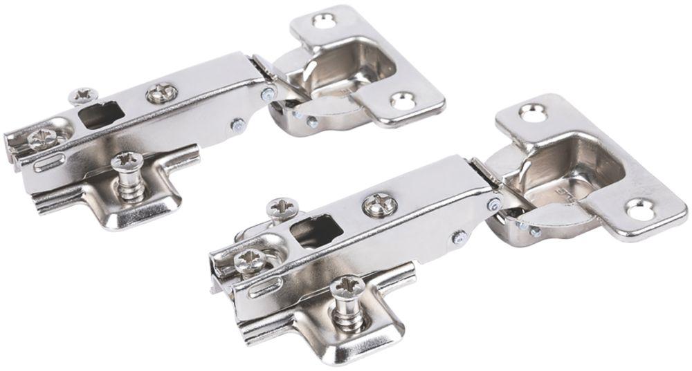 Hafele Steel Cabinet Hinge 64mm 2 Pack