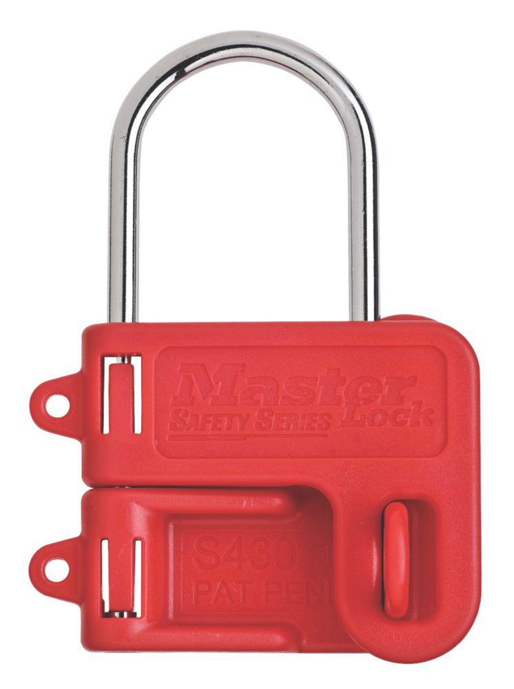 "Master Lock  Steel Lockout Hasp 1"" Jaw"