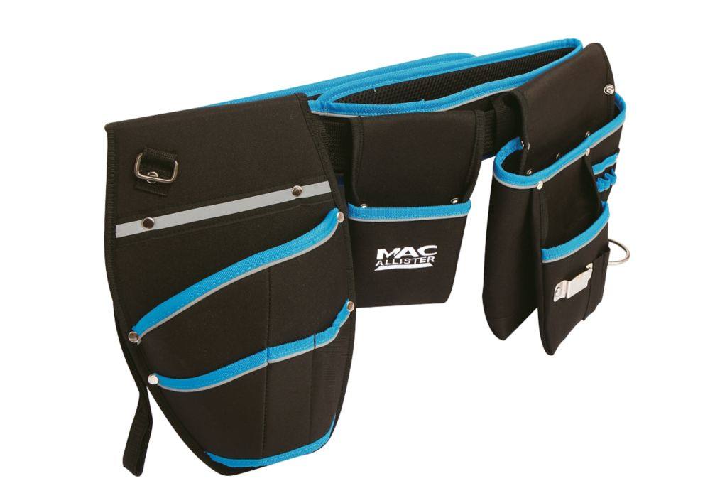 """Mac Allister  Tool Belt with Pouch & Drill Holster 35-47"""""""