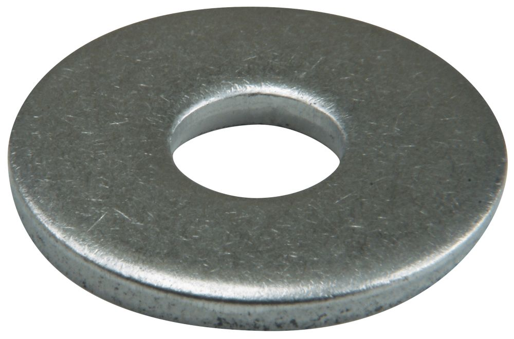 Easyfix A2 Stainless Steel Large Flat Washers M4 x 1mm 50 Pack