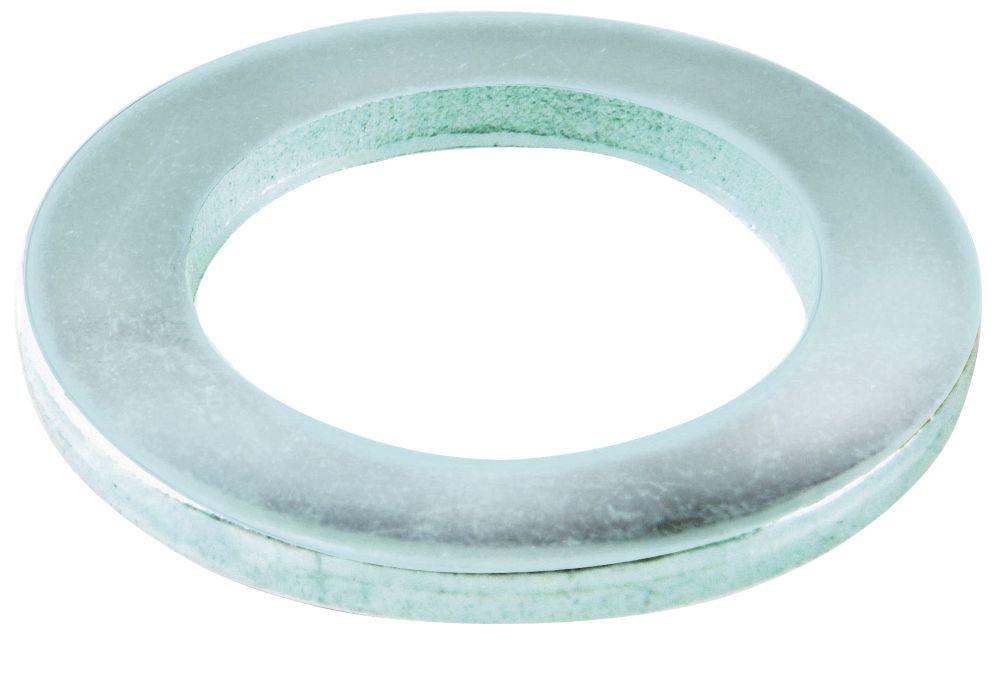Easyfix Steel Flat Washers M4 x 0.8mm 100 Pack