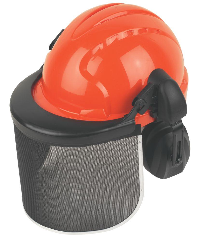 JSP EVO3 EVO3 Forestry Helmet with Ear Defenders & Visor