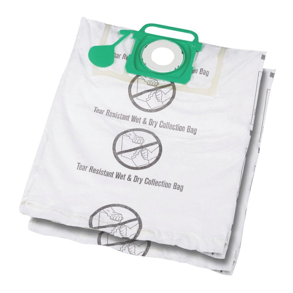 Titan Shop Vac 20, 30, 40Ltr Wet & Dry Vacuum Cleaner Filter Bags 2 Pack