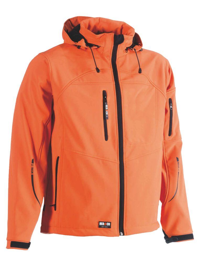 "Herock Poseidon Softshell Jacket Orange Medium 44"" Chest"