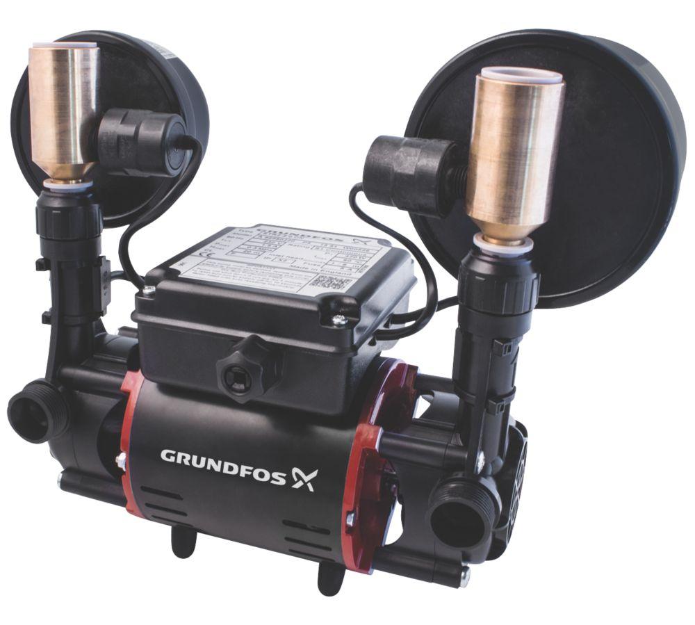 Grundfos 98950220 Regenerative Twin Shower Pump 2.0bar