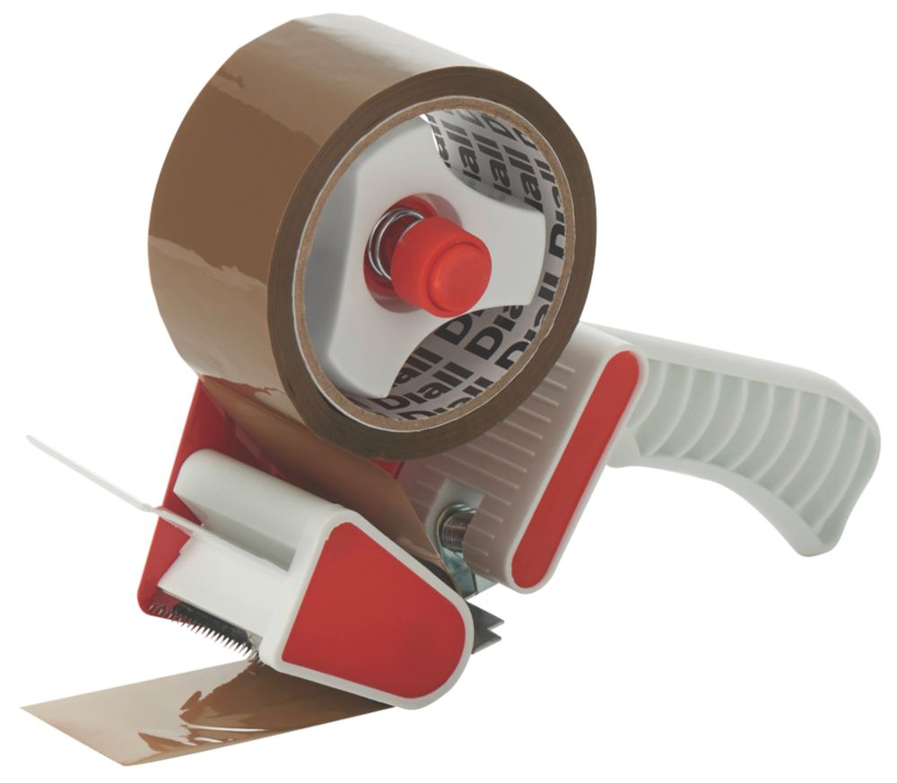 Diall Hand-Held Tape Dispenser 50m x 50mm