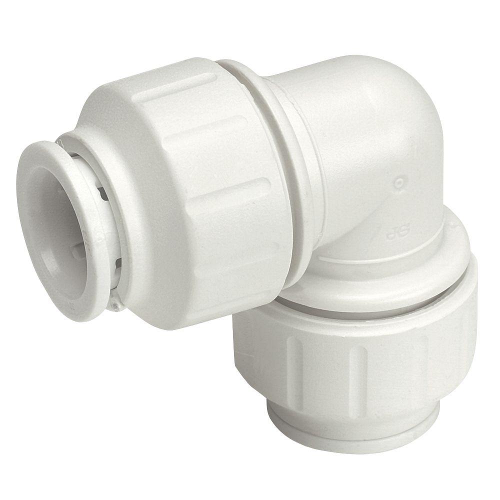 JG Speedfit  Plastic Push-Fit Equal 90° Elbows 10mm 10 Pack