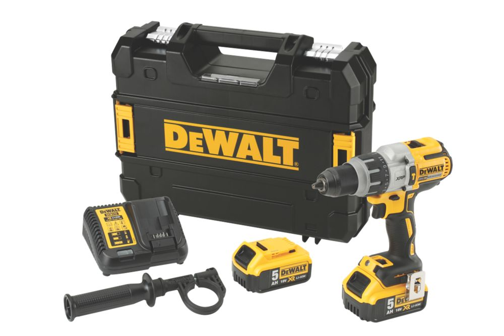 DeWalt DCD996P2-GB 18V 5.0Ah Li-Ion XR Brushless Cordless Combi Drill