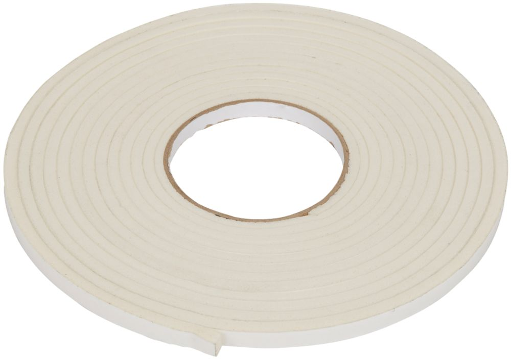 Diall Draught Seal Roll White 6m