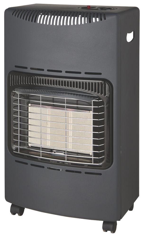 LD-468C Portable Black Gas Heater 4200W