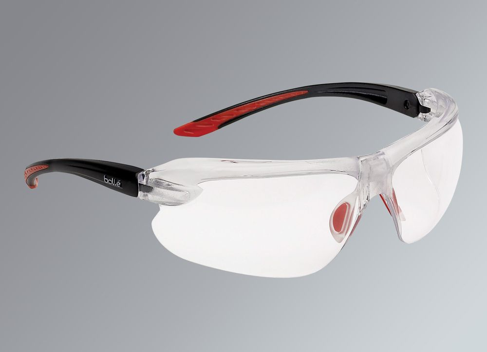 Bolle IRI-s Clear Lens Safety Specs With Magnification +2.5