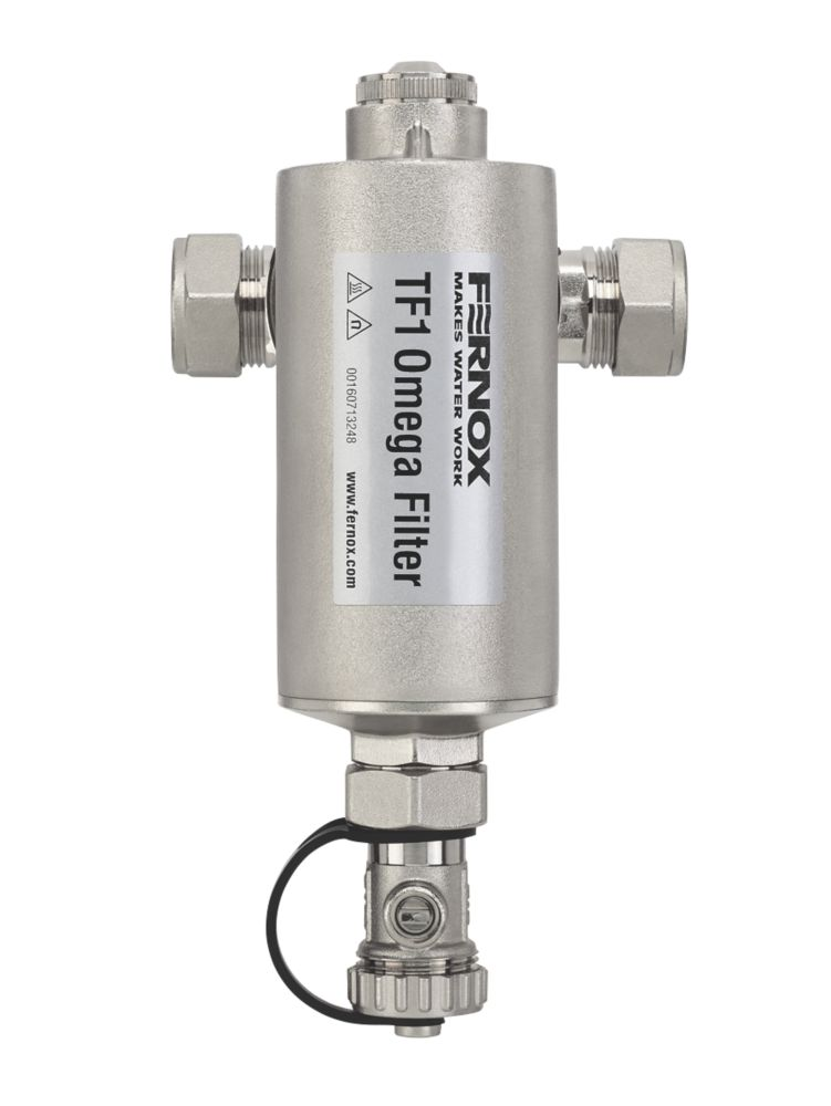 Fernox 62248 TF1 Omega Filter Slip Socket Connection 22mm