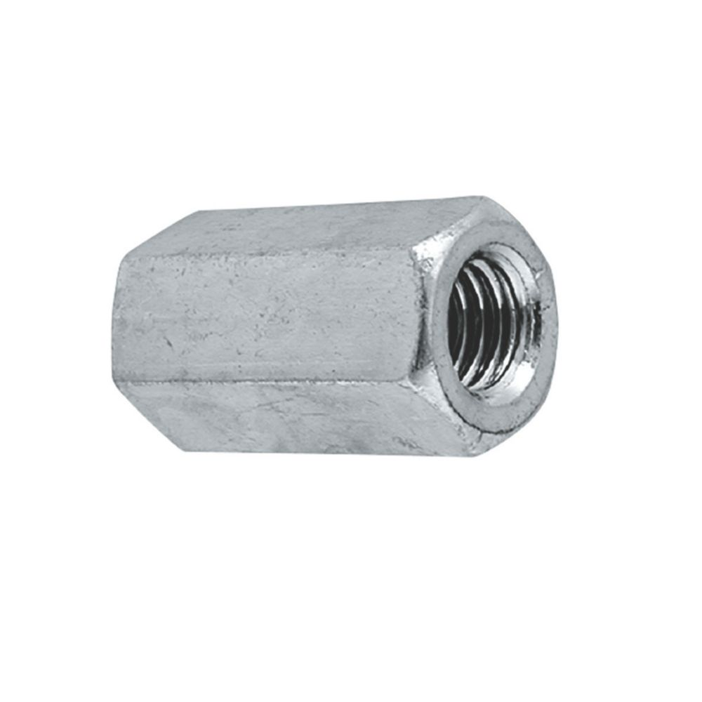 Easyfix A2 Stainless Steel Threaded Rod Connecting Nuts M12 10 Pack
