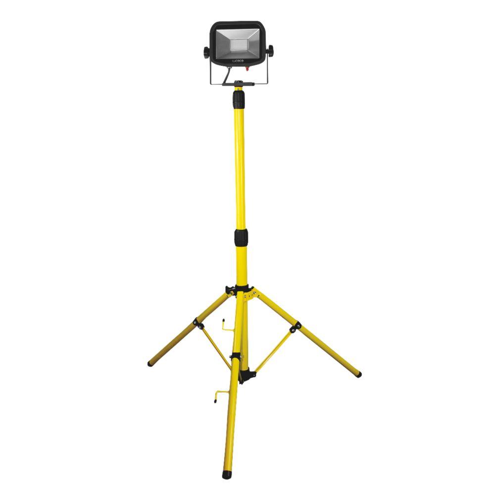 Luceco  Single-Head Tripod Work Light 22W 110V