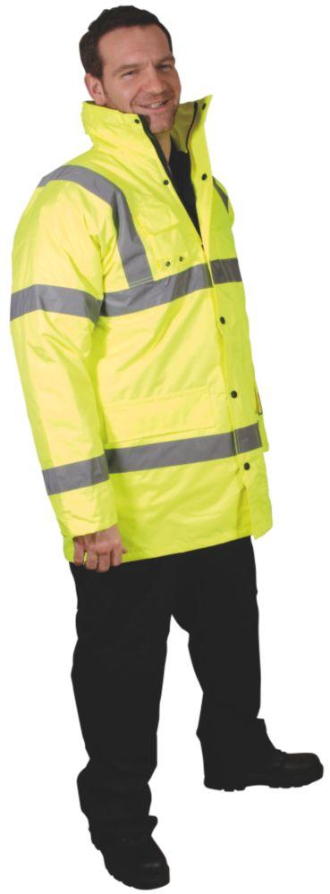 "Dickies  Motorway Jacket Yellow X Large 48-50"" Chest"