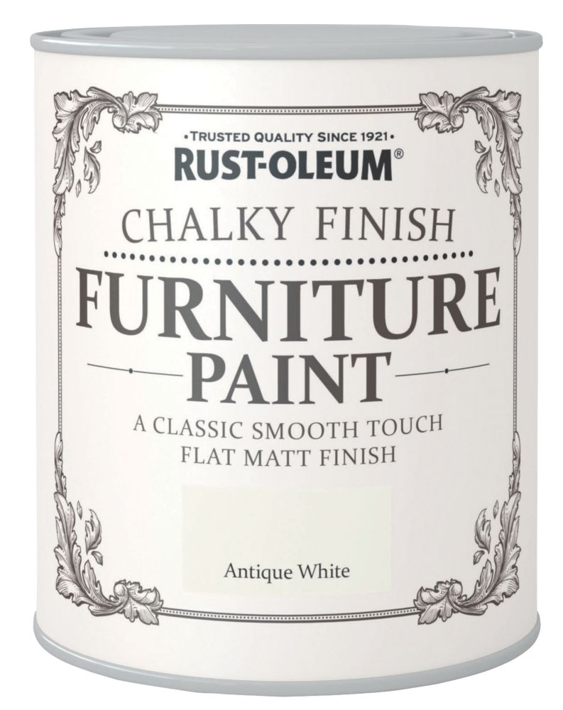 Rust-oleum Universal Furniture Paint Chalky Antique White 750ml