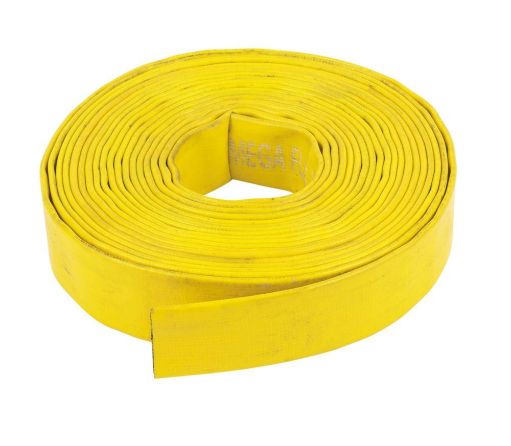 "Layflat Hose Yellow 10m x 1¼"""