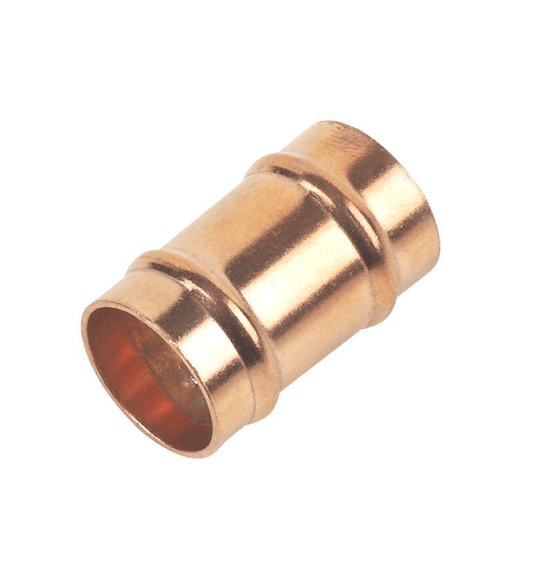 Solder Ring Equal Slip Coupler 15mm