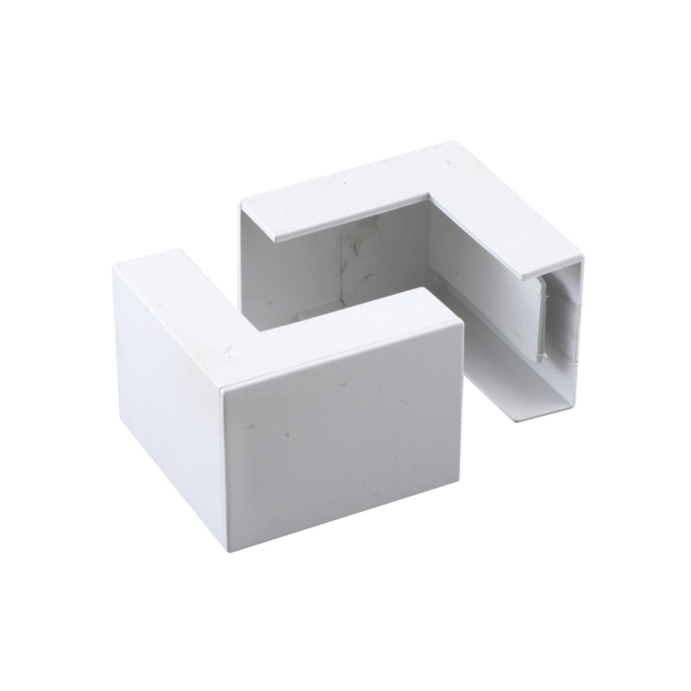 Tower  External Trunking Angle 38 x 16mm 2 Pack