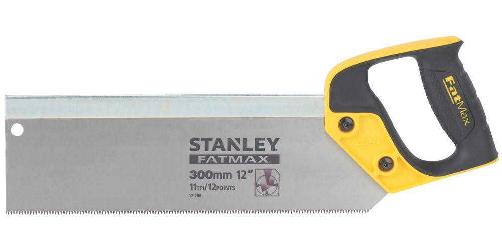 "Stanley  11tpi Wood Tenon Saw 12"" (300mm)"