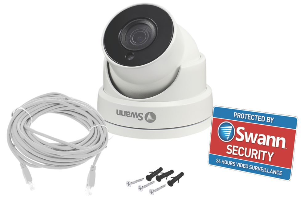 Swann   Wired 5MP Indoor & Outdoor  5MP CCTV Dome Camera
