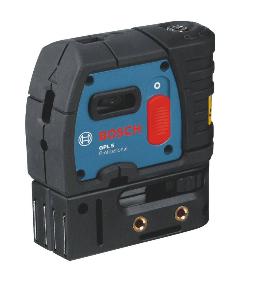 Bosch GPL5 Red Self-Levelling Spot Laser Level